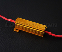 Resistors for LED indicators + 2 dominos