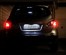 Pack LED License plate (Xenon White) for Nissan Qashqai