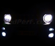 Pack Xenon Effects headlight bulbs for Jeep Renegade