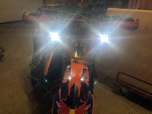 Led KTM EXC 450 2018 Six days Tuning