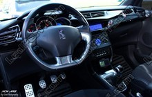 Led CITROEN DS3 2010 So chic Full led bleu et blanche Tuning